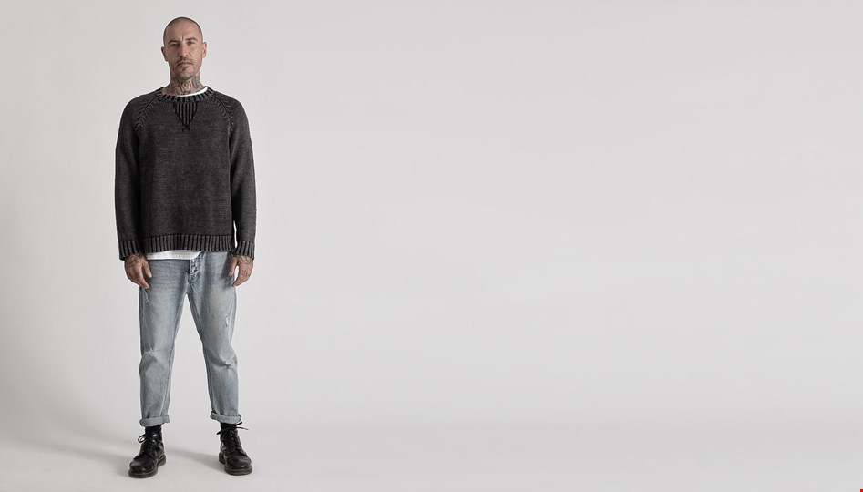 MR JAMES KNIT SWEATER