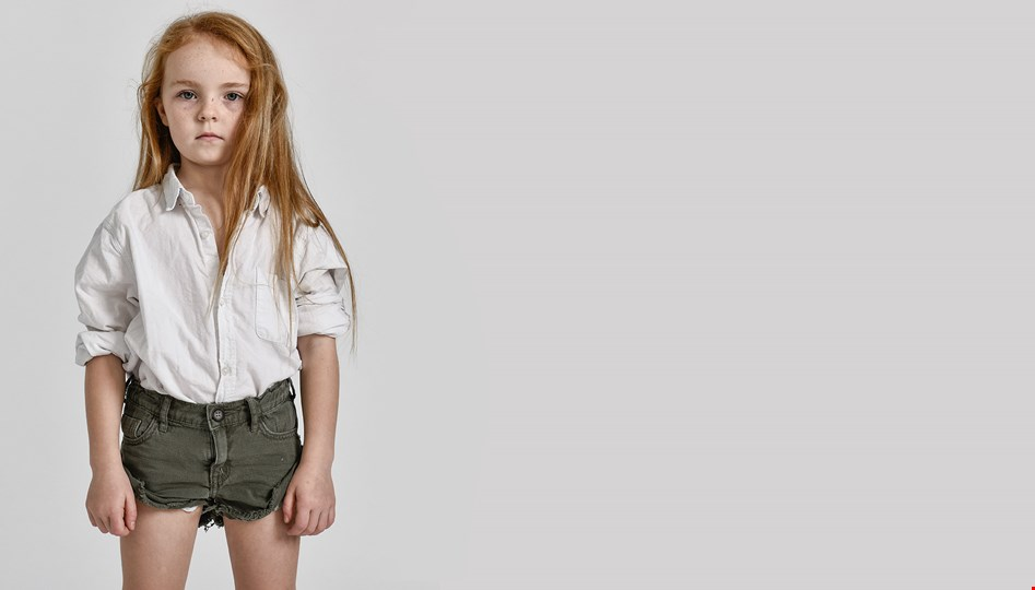 KIDS MILITAIRE BANDIT DENIM SHORT